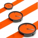 Ersatzband Picto Uhr - Farbe orange - Typ 43373, 43374, 43375
