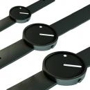 Ersatzband Picto Uhr - Farbe schwarz - Typ 43360, 43361, 43362