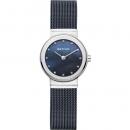 Ersatzband Bering Uhr - Milanaise blau - 10126-307, 10126-367